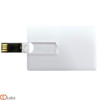 Флешка карточка белая под нанесение