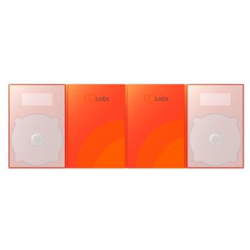2DVD DigiPack 8 полосный — упаковка для дисков в Москве