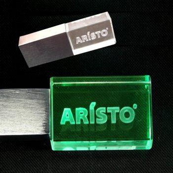 Флешкарта (ARISTO) с лазерной гравировкой