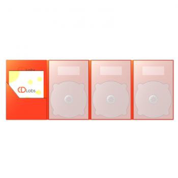 3DVD DigiPack 8 полосный с карманом