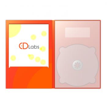 DVD DigiPack с просечкой