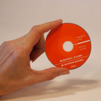 Мини диск (Hомос Банк)