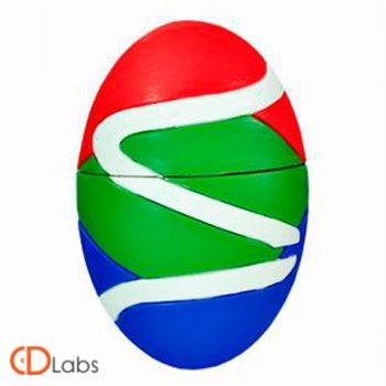 Флешка в форме разноцветного яйца