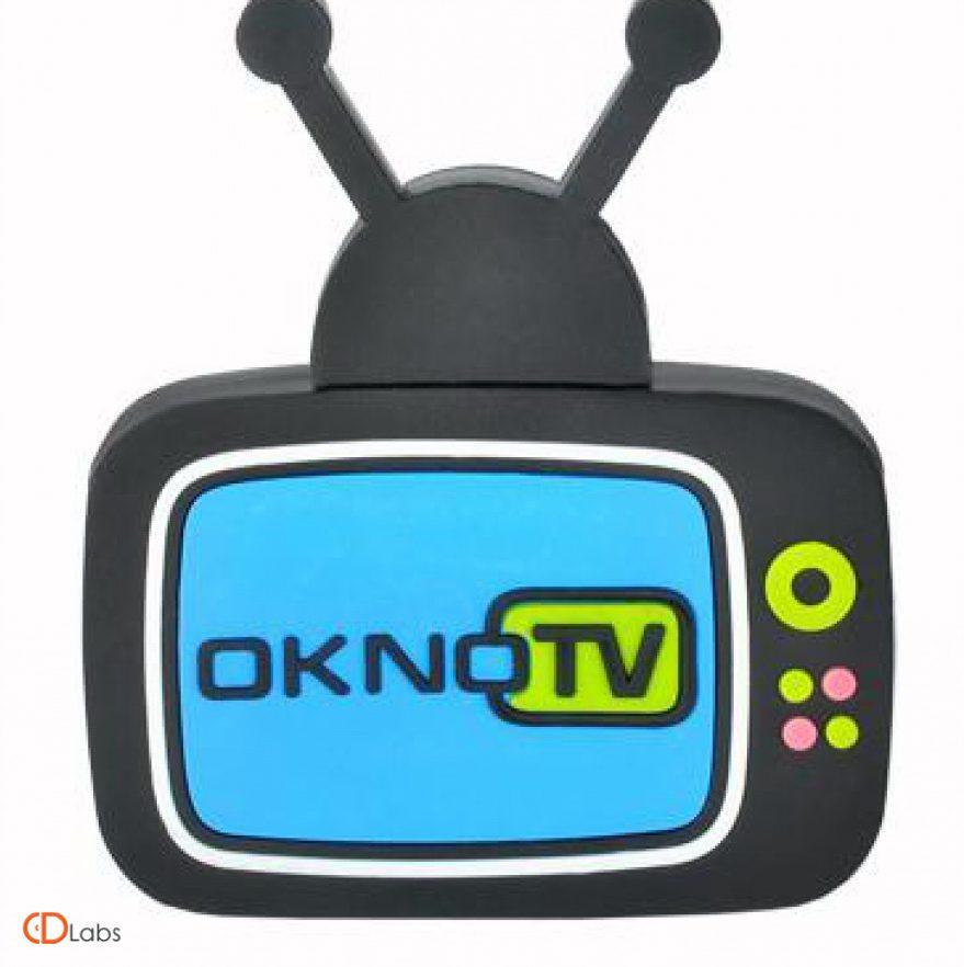 Флешка в форме телевизора