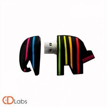 Флэшка в форме слона «Caparol»