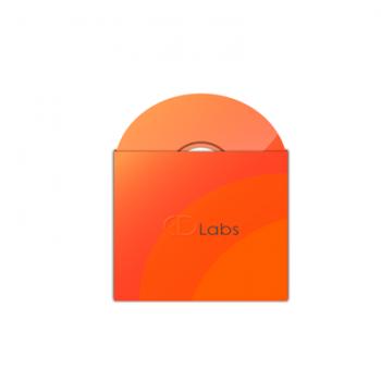 Картонный конверт для мини диска